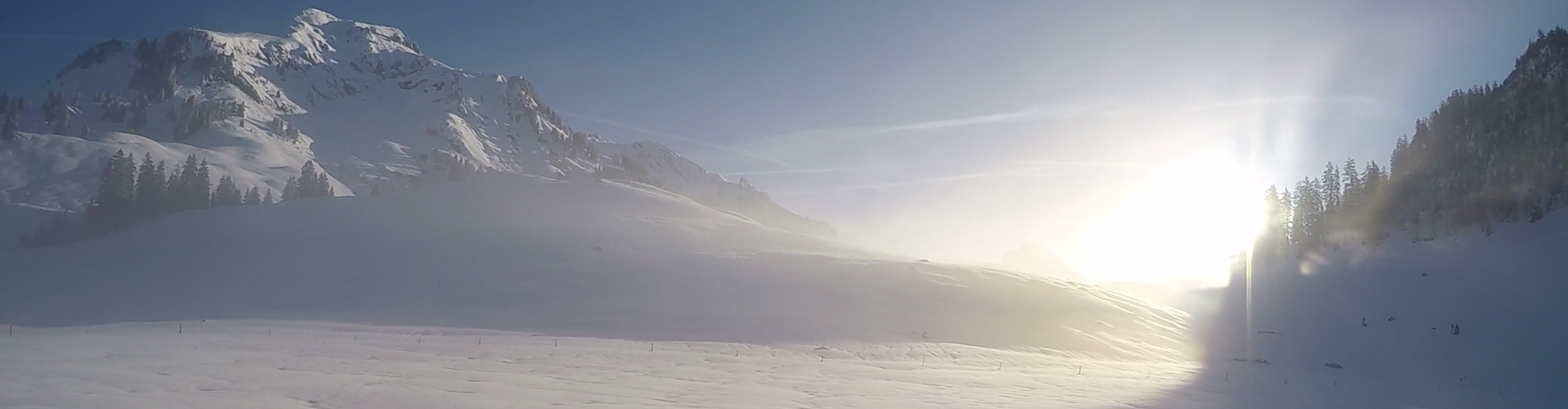 Kaltluftseen in der Schweiz